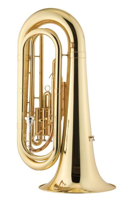 Bb Marching-Tuba lackiert