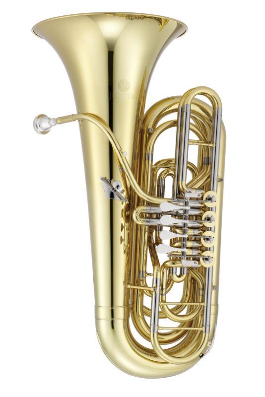 Bb-Tuba 4 Drehventile lackiert