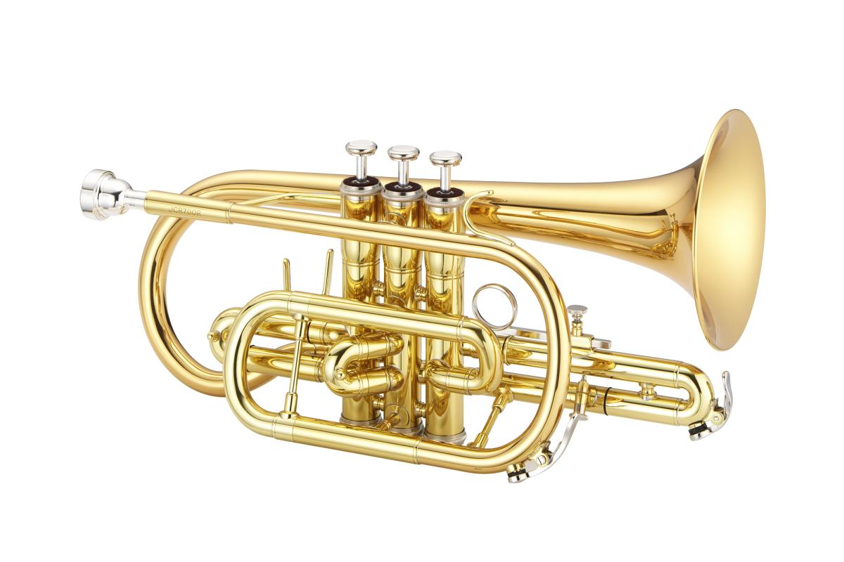 JCR700RQ Bb-Kornett Goldmessing lackiert