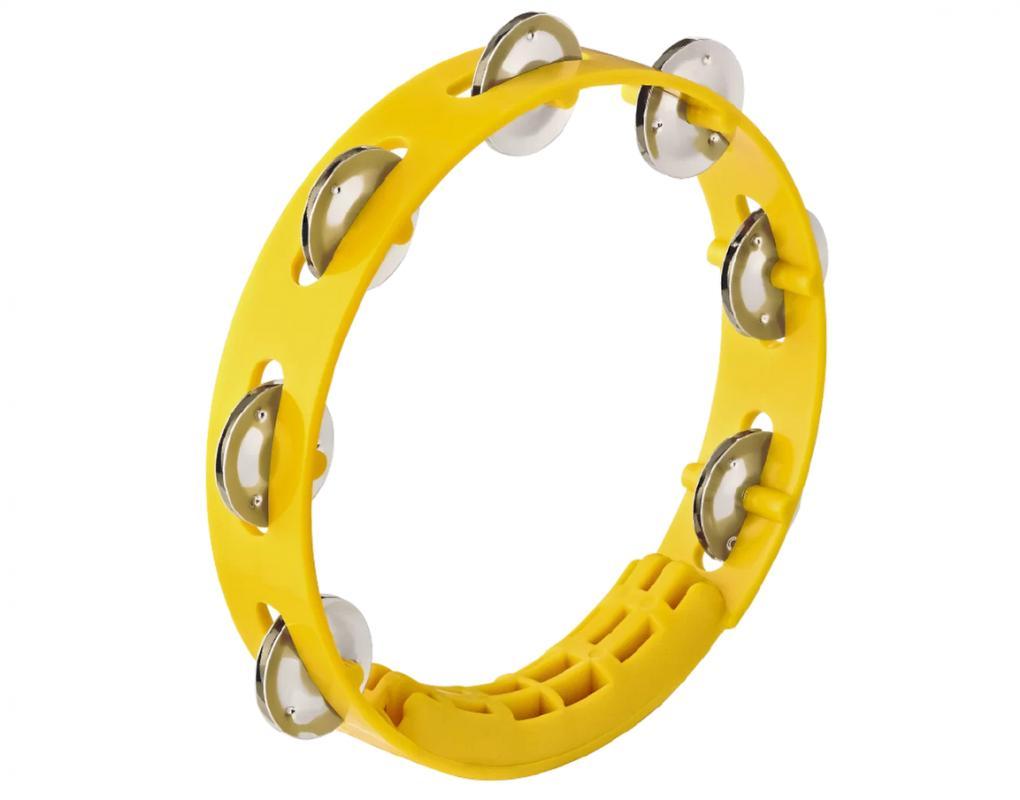 Tamburin Gelb 8 Zoll