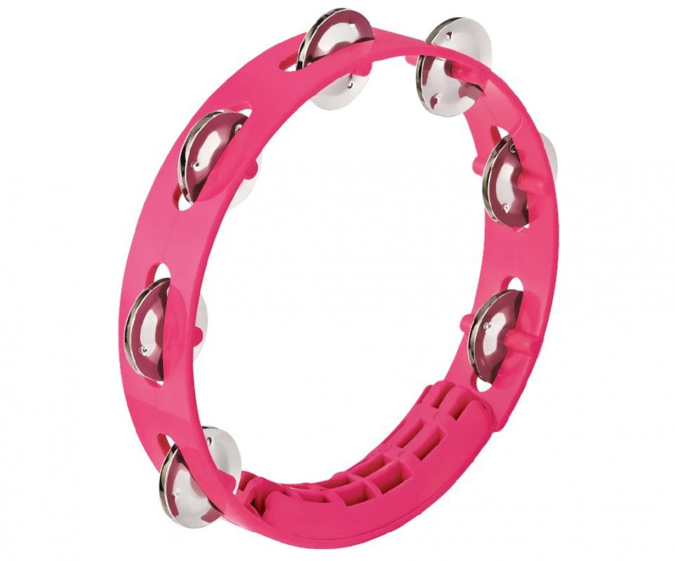 Tamburin Pink 8 Zoll