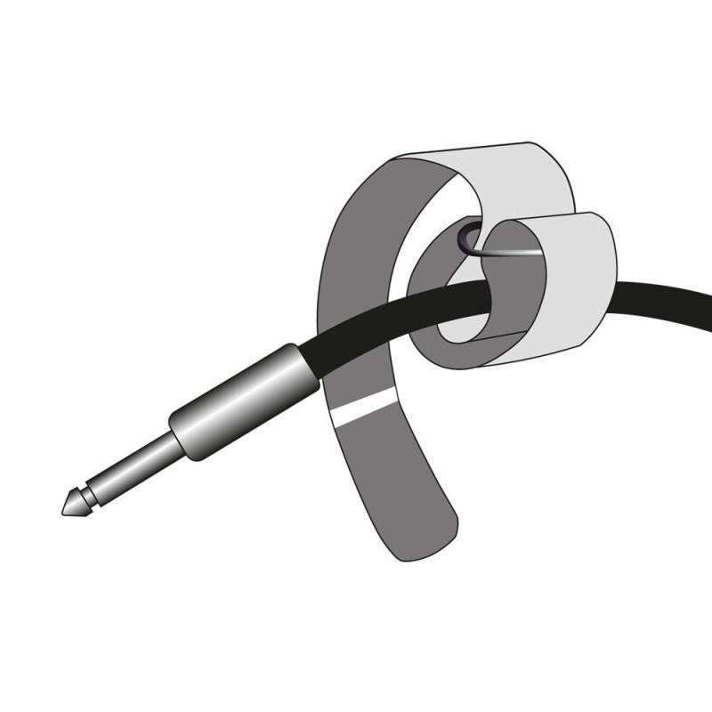 VR2030 10er-Pack Klett-Kabelbinder