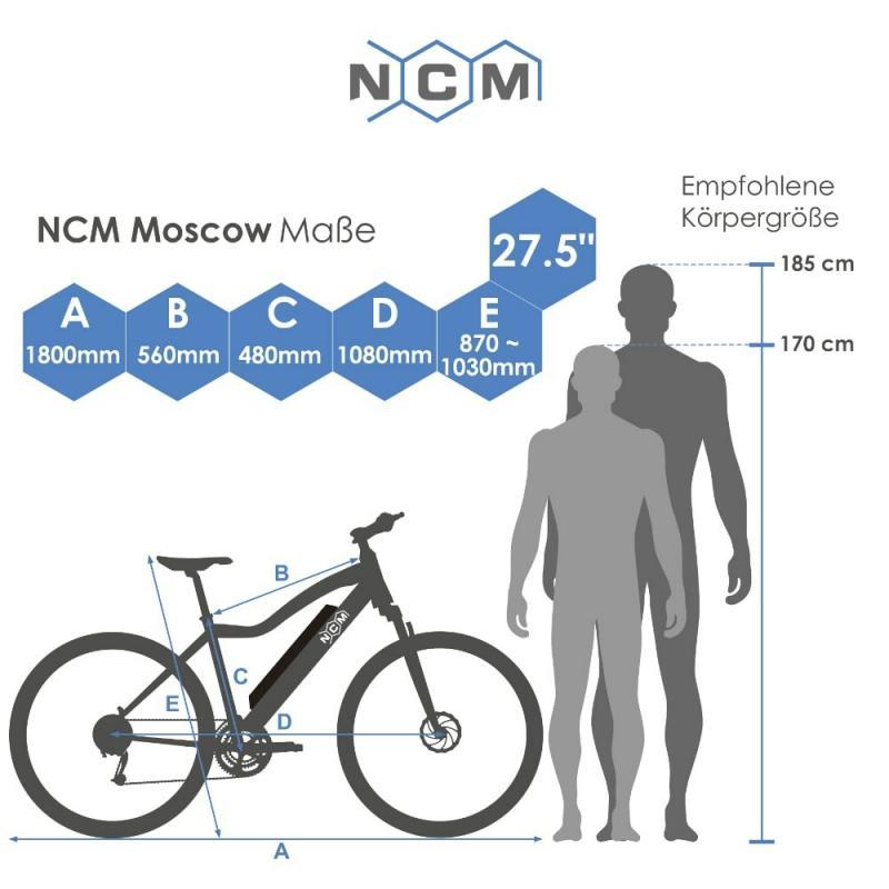 Moscow Plus E-Mountainbike