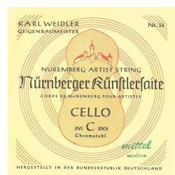 Saiten für Cello Künstler Nürnberger