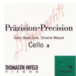 Saiten für Cello Präzision Stahl Vollkern Mittel Thomastik