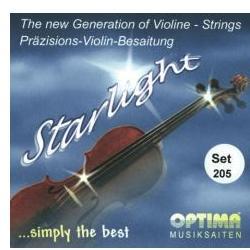 Saiten für Violine Starlight Satz Optima