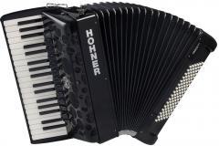 Amica Forte-IV-96 schwarz silent-key Hohner
