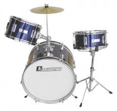 JDS-203 Kinder-Schlagzeug blau Dimavery