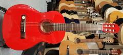 Konzertgitarre Rot 3/4-Größe Pro Natura