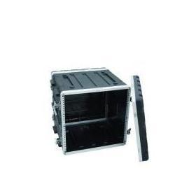 Kunststoff-Rack 10HE schwarz Roadinger