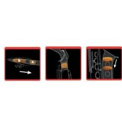 Dämpfer Bariton-Saxophon Saxmute