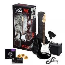 RC-100 E-Gitarren-Set Schwarz VGS