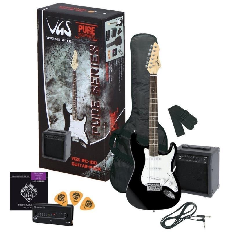 RC-100 E-Gitarren-Set Schwarz
