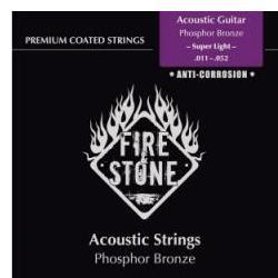 Saiten Phosphor-Bronze Super-Light FireAndStone