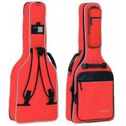 Premium-Tasche Konzertgitarre rot Gewa