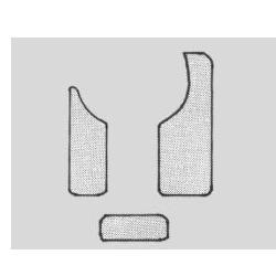 Schlagbrett Deckenschoner Set f. Konzertgitarre, 3-teilig FireAndStone