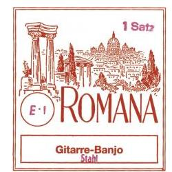 Satz Saiten für 6-String Gitarrenbanjo Romana