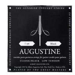 Schwarz Saitensatz Konzertgitarre Augustine