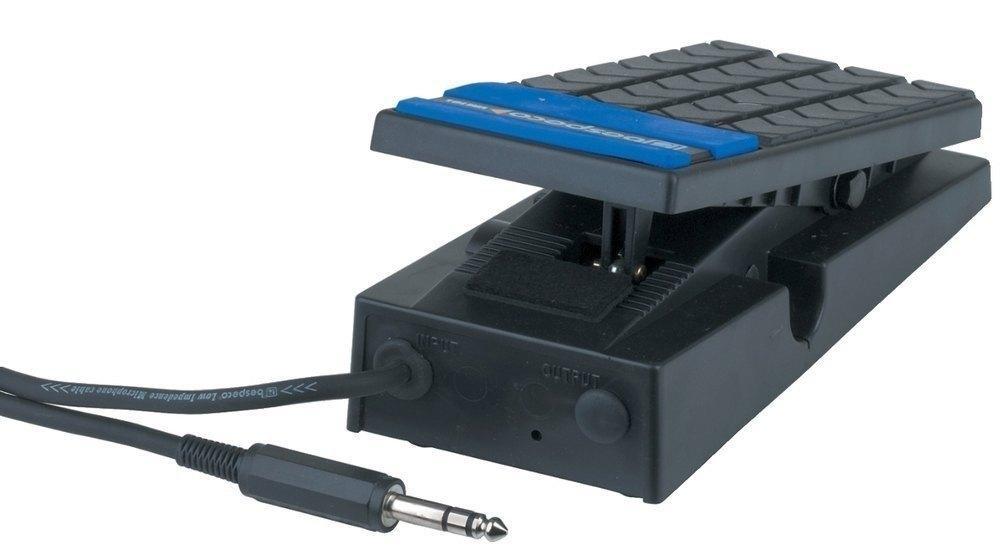 Schalter und Volumenpedal
