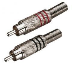 Steckverbindung Cinchstecker Hot Wire