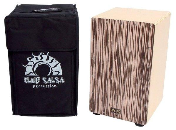 Cajon Club Salsa Zebrano Design