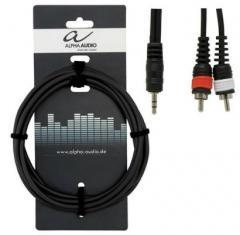 Y-Kabel 1,5m Alpha-Audio