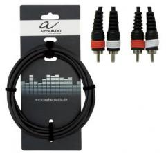 Kabel Stereo-Chinch 3m Alpha-Audio