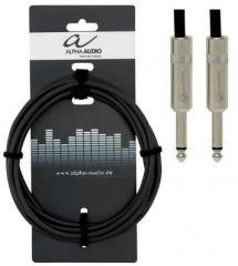 Instrumentenkabel Klinke-Klinke 6m Alpha Audio