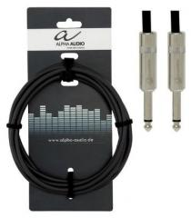 Instrumentenkabel Klinke-Klinke 3m Alpha Audio