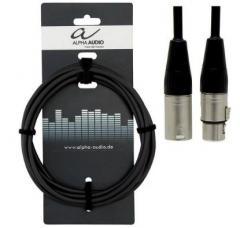 Mikrofonkabel XLR-XLR 9 m Alpha Audio