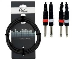 Stereo Keyboardkabel 6m Alpha Audio