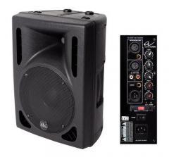 Aktiv-Box A-Amp ten Biamp Alpha Audio