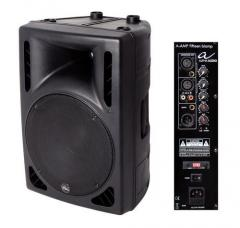 Aktiv-Box A-Amp fifteen Biamp Alpha Audio