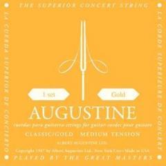 Satz Saiten für Klassik-Gitarre, Gold Label Augustine