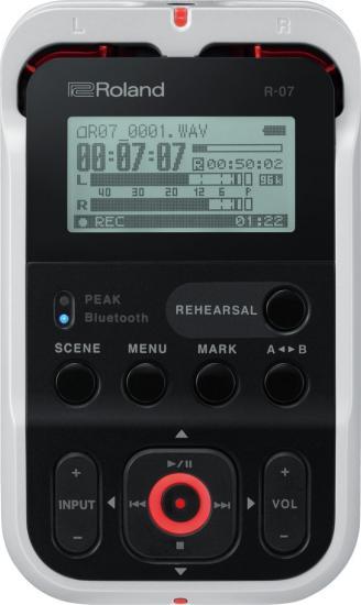 R-07 Audio-Recorder weiß