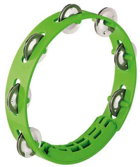 Tamburin Grün 8Zoll