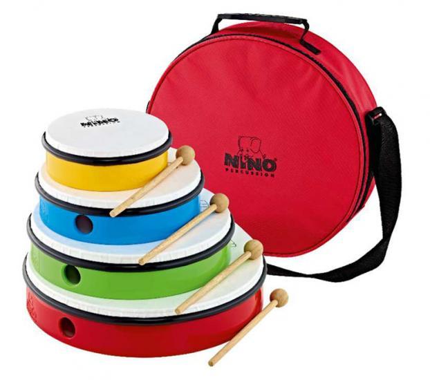 Hand-Drum-Set inkl. Tasche
