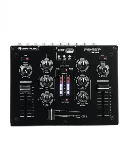 PM-211P DJ-Mixer mit Player