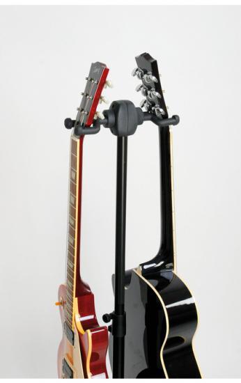 17620 Gitarrenständer Double schwarz
