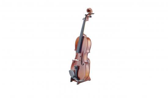 15550 Violinenständer Ukuleleständer holzoptik