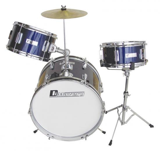 JDS-203 Kinder-Schlagzeug blau