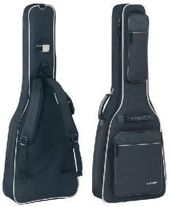 Premium-Tasche Konzertgitarre schwarz