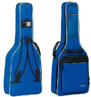 Premium-Tasche Konzertgitarre blau
