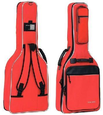 Premium-Tasche Konzertgitarre rot