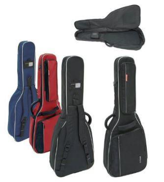 Premium-Tasche E-Gitarre schwarz