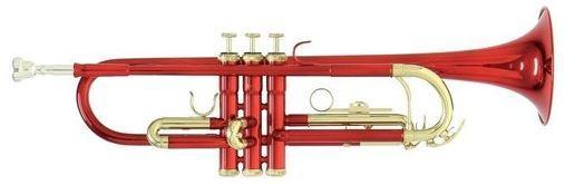 Bb-Trompete TR-101R Rot