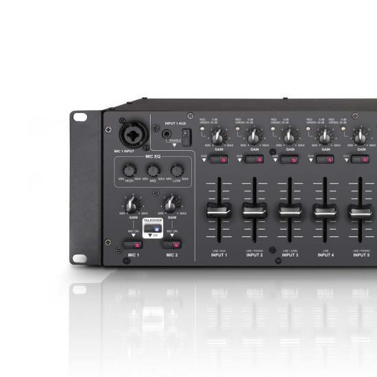 ZONE624 2-Zonen Mixer 3HE