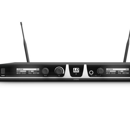 U508-HHC-2 2-Kondensator Handmikrofone