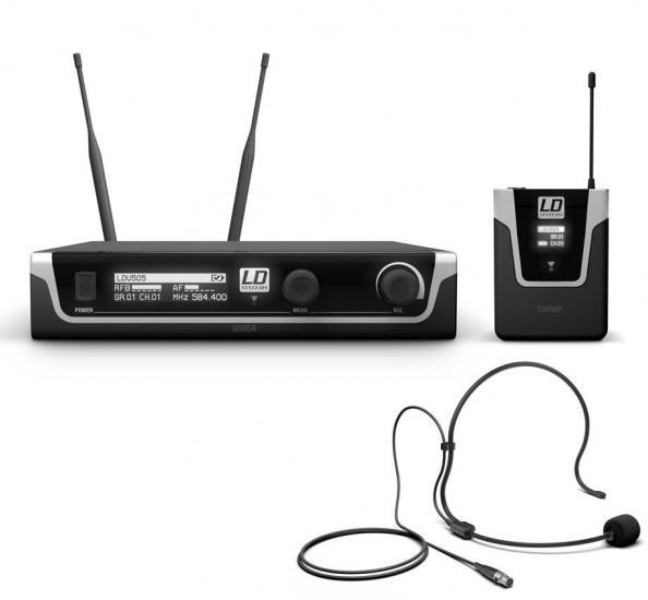 U505-BHP Bodypack & Headset
