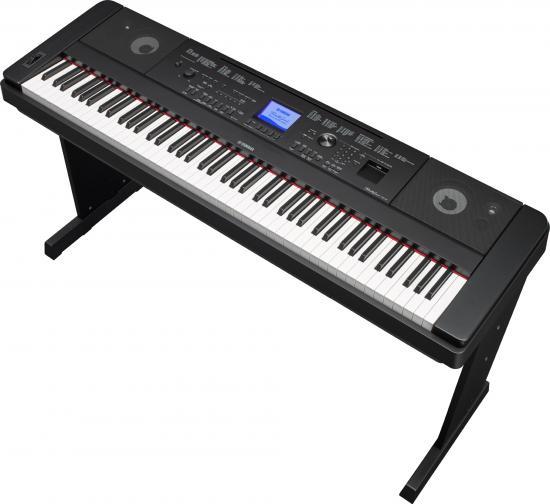 DGX-660B Digital-Piano Schwarz